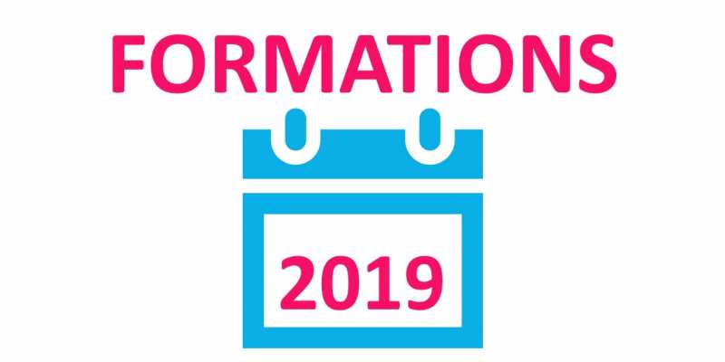 Calendrier des formations 2019